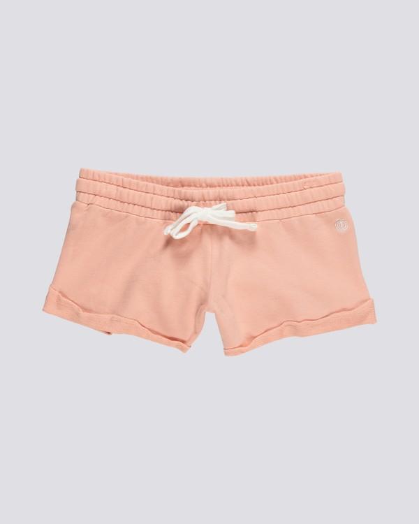 0 Dont Dare - Shorts mit Gummibund für Damen Rosa S3WKA7ELP0 Element