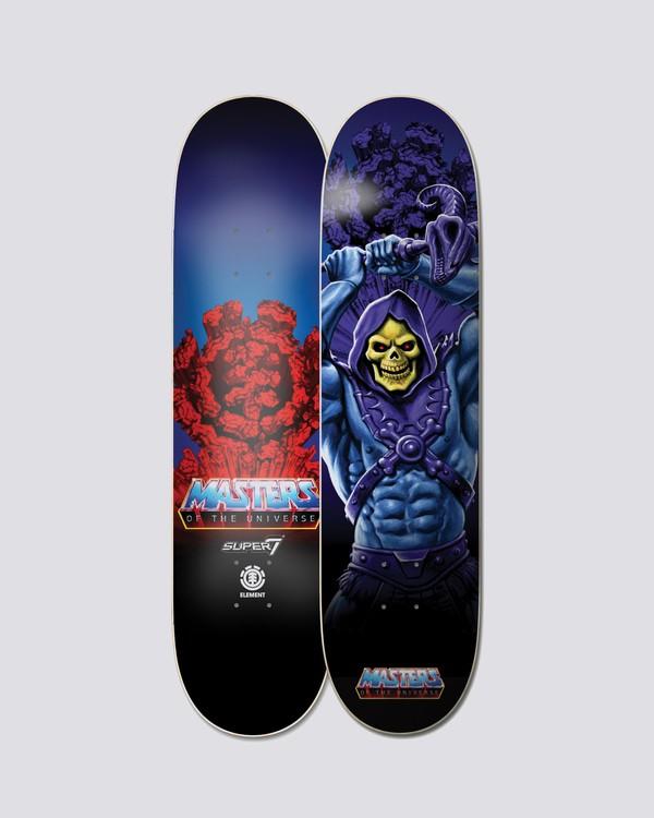 """0 Masters Of The Universe 8.5"""" Skeletor -Skateboard-Deck  S4DCF5ELP0 Element"""