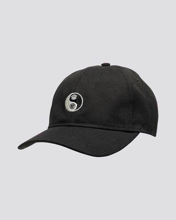 0 Timber Fluky - Dad Cap for Men Black S5CTB3ELP0 Element