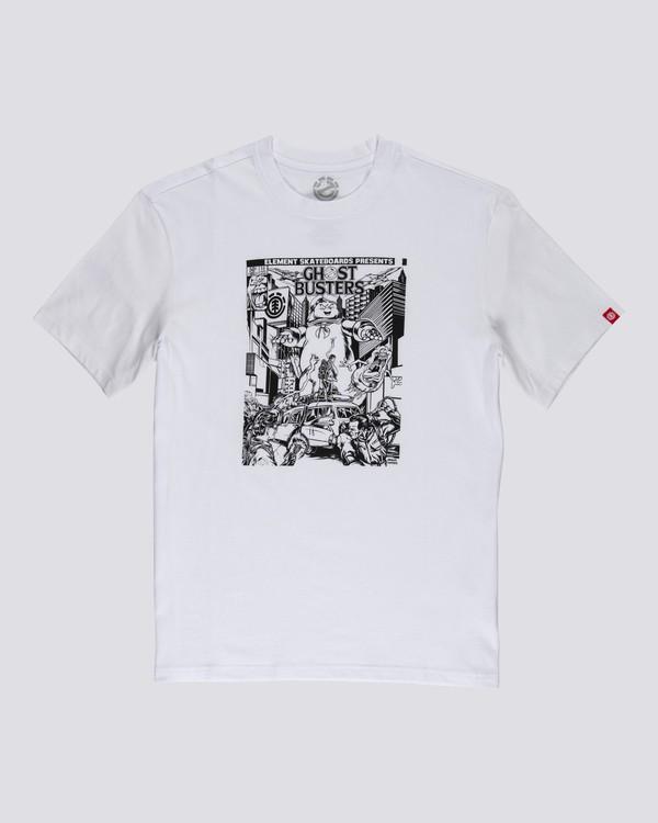 0 Ghostbusters Carnage - T-Shirt for Men White U1SSL5ELF0 Element