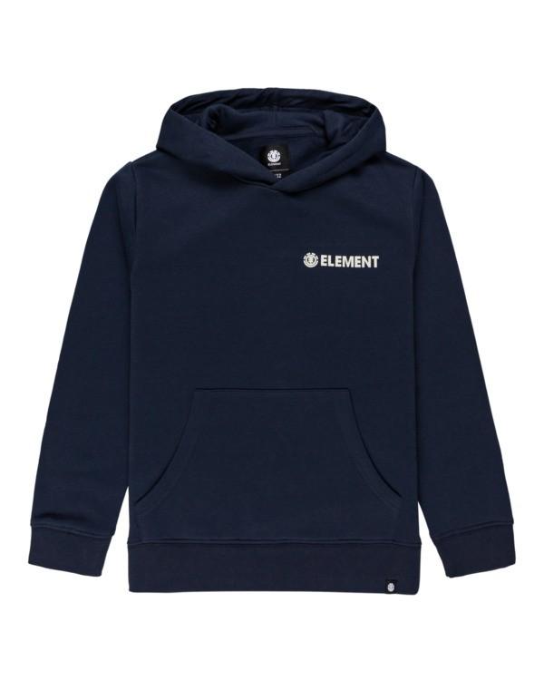0 Blazin Chest - Hoodie for Boys Blue U2HOA4ELF0 Element