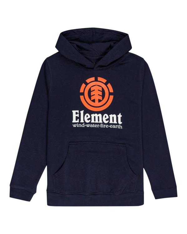0 Vertical - Hoodie for Boys Blue U2HOA6ELF0 Element