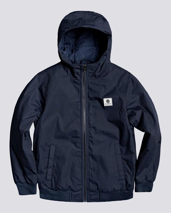 0 Wolfeboro Dulcey - Water-Resistant Jacket for Boys Blue U2JKA1ELF0 Element