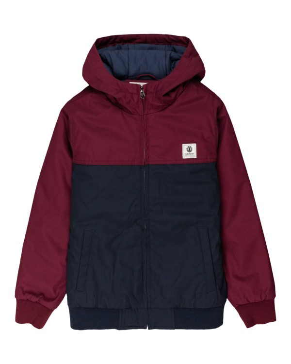 0 Wolfeboro Dulcey Two Tones - Water-Resistant Jacket for Boys Blue U2JKA3ELF0 Element