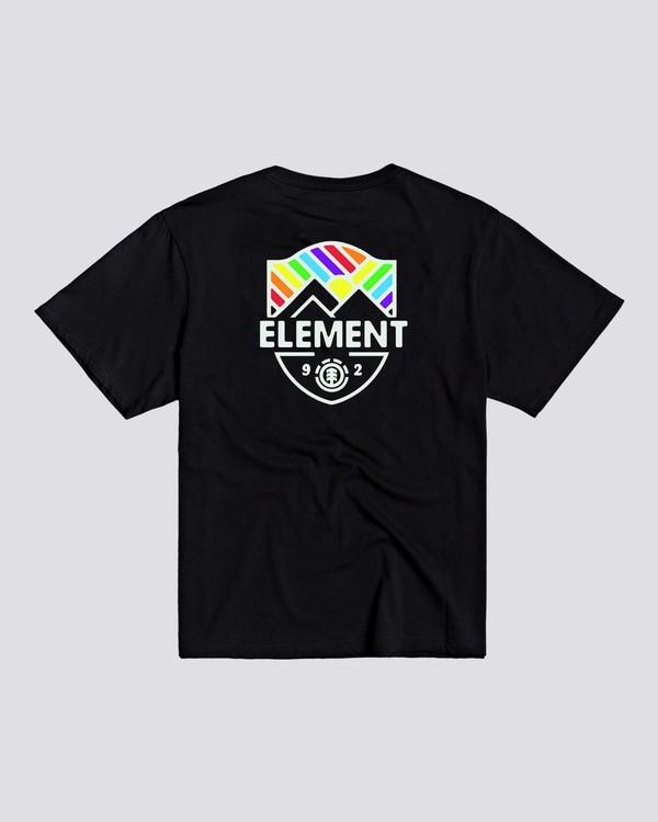 0 Beaming - T-shirt pour Femme Noir U3SSB2ELF0 Element