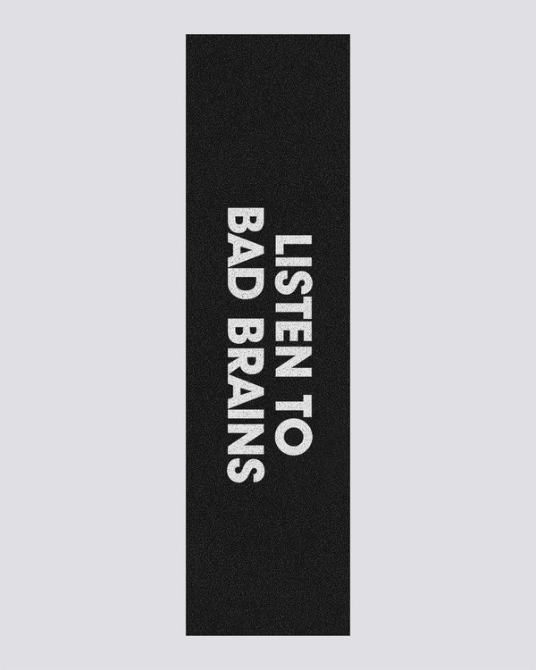 0 Bad Brains Listen To Bad Brains - Skateboard Deck Grip  U4AHB4ELF0 Element