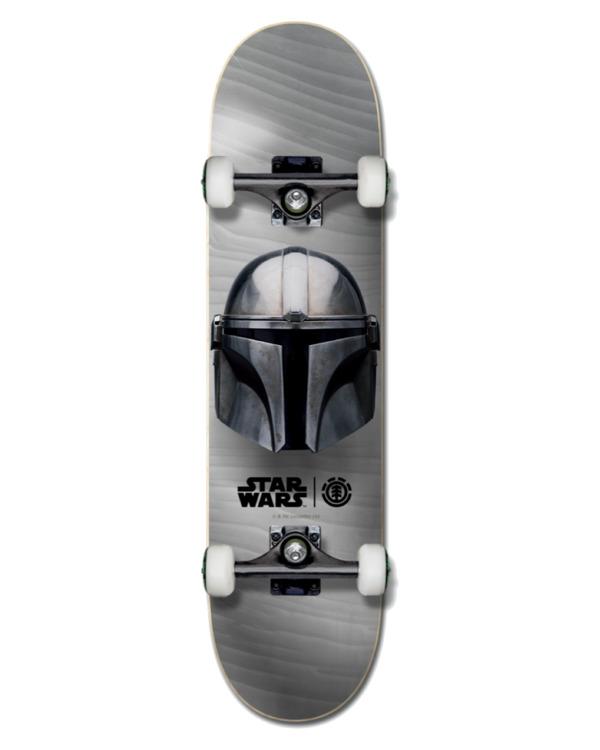 "0 Star Wars X Element 8"" Mandalorian Beskar - Skate para Unisex Negro U4CPD3ELF0 Element"