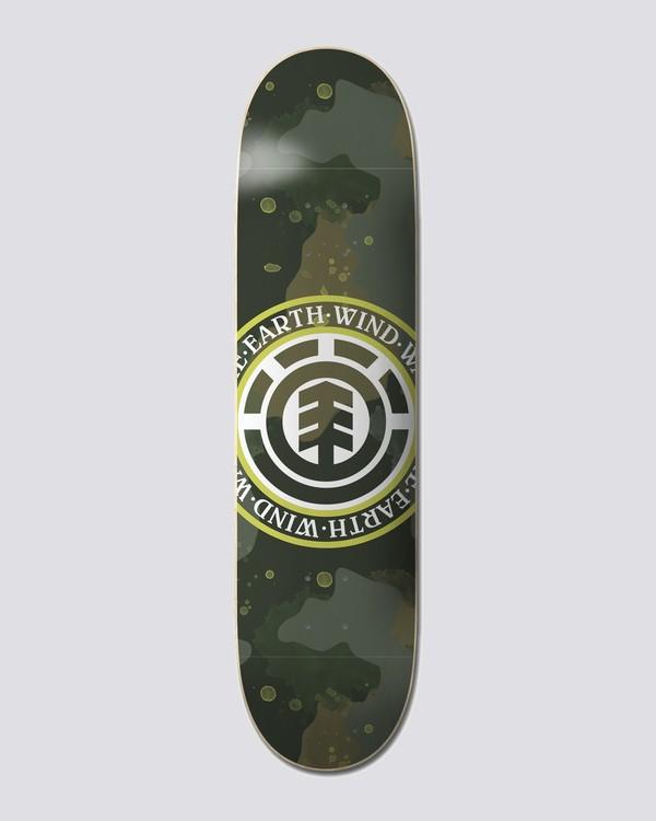 """0 Future Nature 8.25"""" Cam - Planche de skate Noir U4DCD8ELF0 Element"""