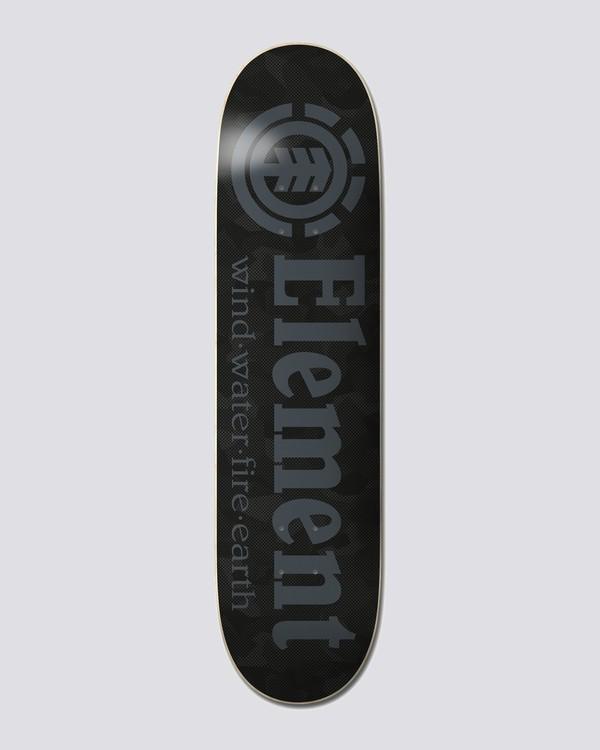"0 Resist 7.875"" Camo Resist - Skateboard Deck for Unisex  U4DCD9ELF0 Element"