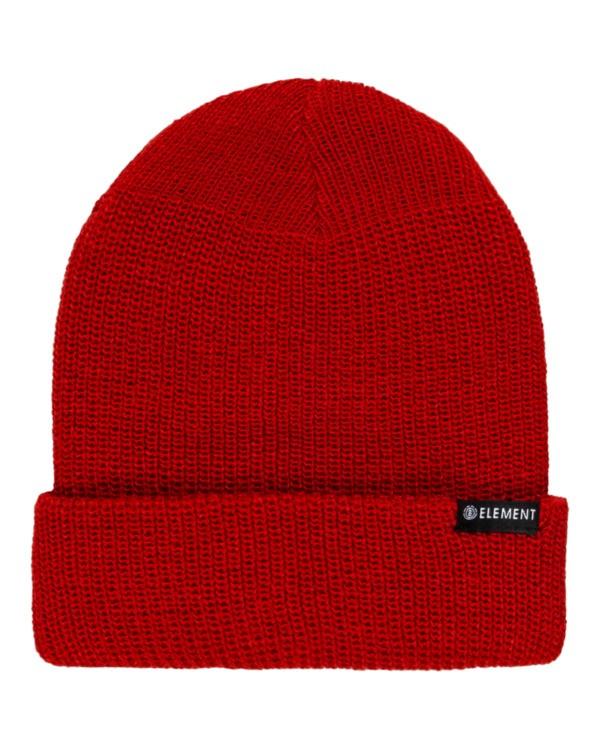 0 Kernel - Beanie for Men Red U5BNB7ELF0 Element