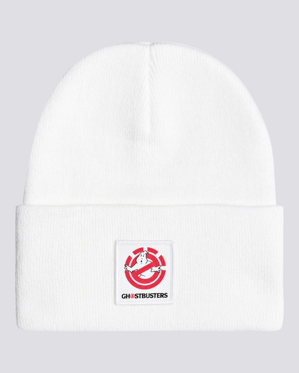 0 Ghostbusters Dusk - Beanie for Men White U5BNB9ELF0 Element