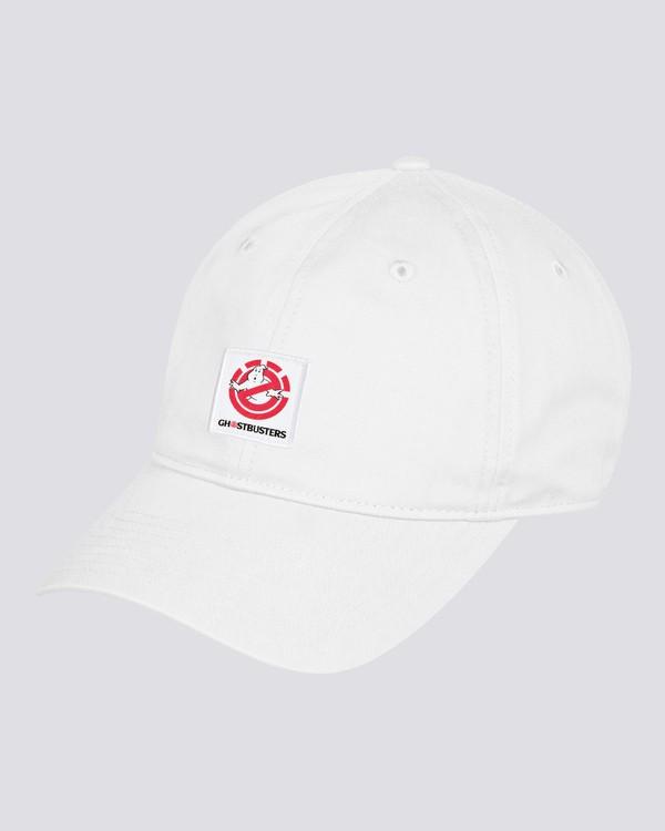 0 Ghostbusters - Snapback Cap for Men White U5CTC2ELF0 Element