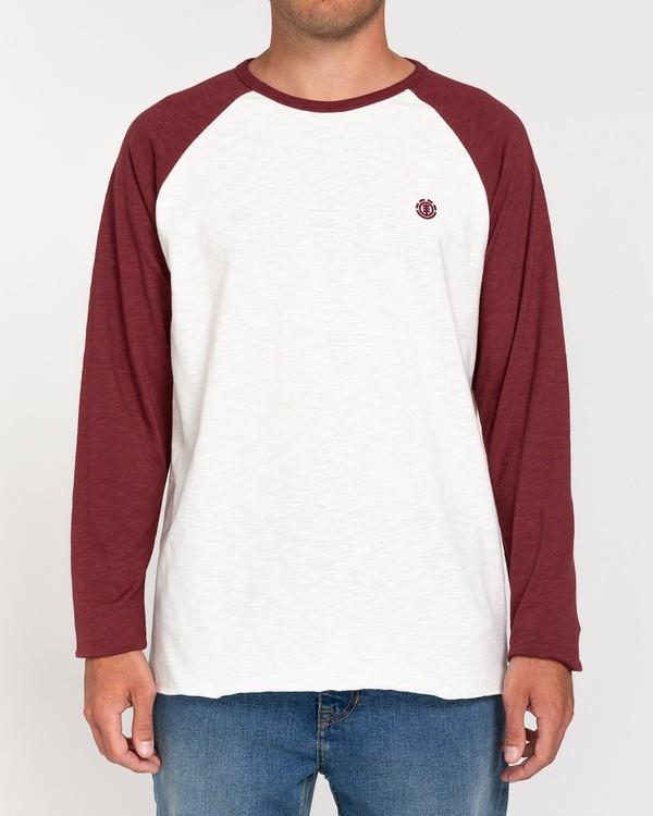 0 Blunt - Camiseta de Manga Larga para Hombre Blanco W1LSB1ELP1 Element