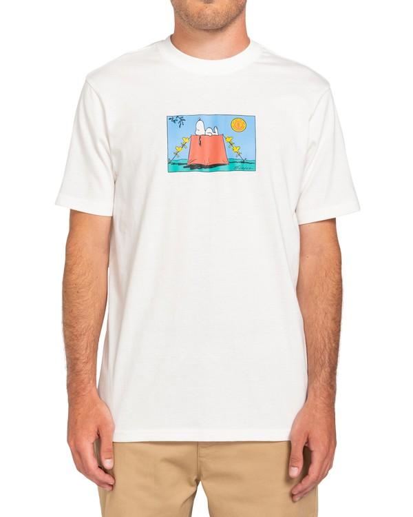 0 Peanuts Zzz - T-Shirt for Men White W1SSP1ELP1 Element