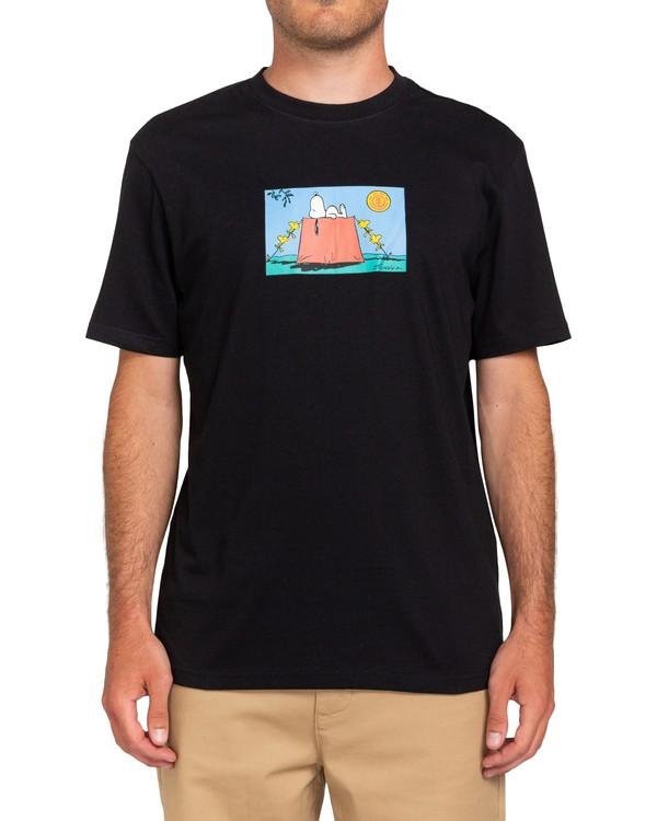 0 Peanuts Zzz - T-Shirt for Men Black W1SSP1ELP1 Element