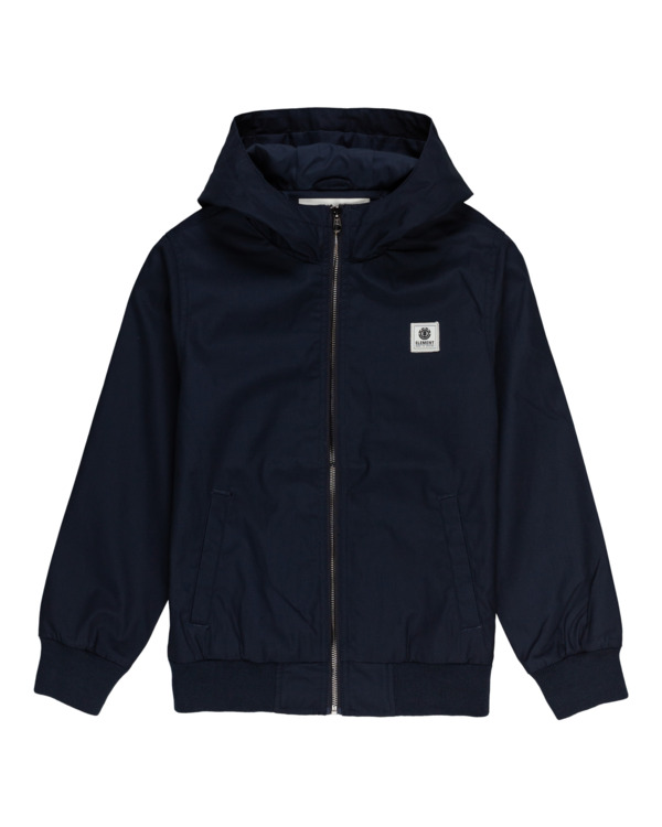 0 Wolfeboro Dulcey Light - Lightweight Water Resistant Jacket for Boys Blue W2JKA5ELP1 Element