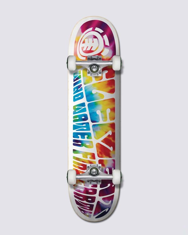 """0 TRIP OUT 8.0"""" COMPLETE SKATEBOARD Multicolor W4CPA4 Element"""