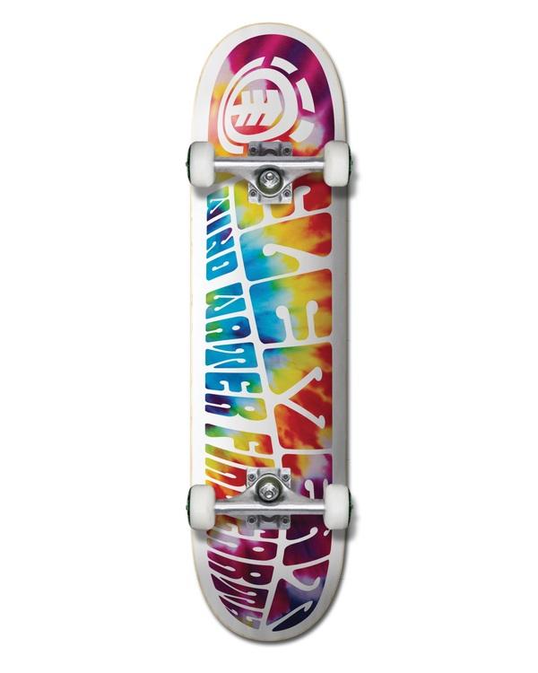 "0 8"" Trip Out - Skateboard Black W4CPA4ELP1 Element"