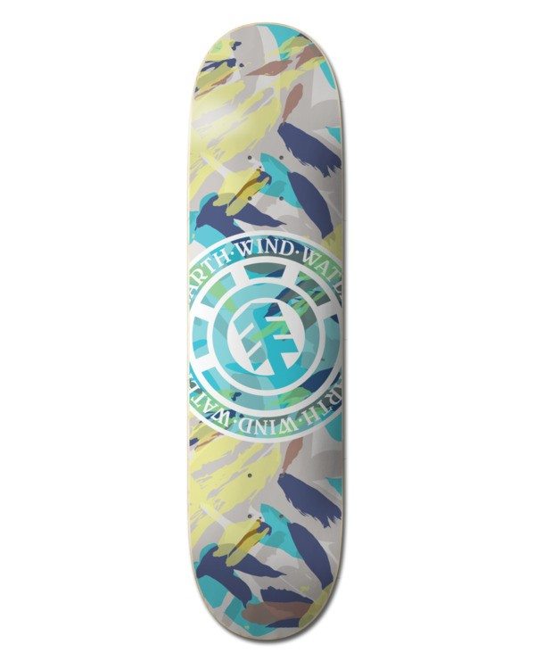 "0 8.25"" Nigel Cabourn Seal - Skateboard Deck Black W4DCF1ELPP Element"