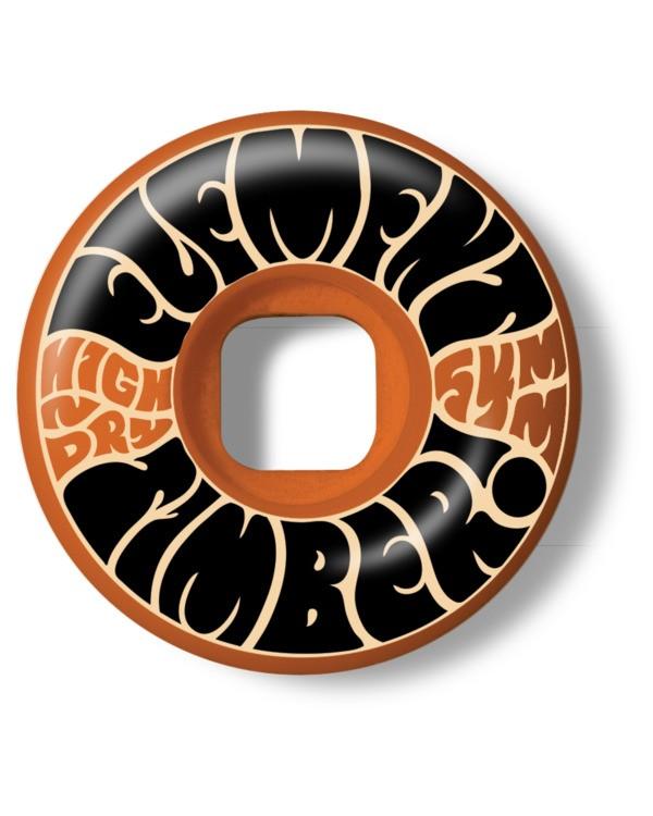 0 Timber! High Dry 54mm - Set de 4 roues de skate pour Unisexe Noir W4WHA3ELP1 Element