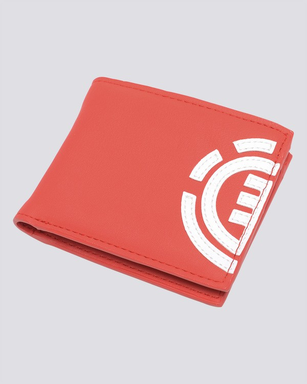 0 Daily - Wallet for Men Red W5WLA4ELP6 Element
