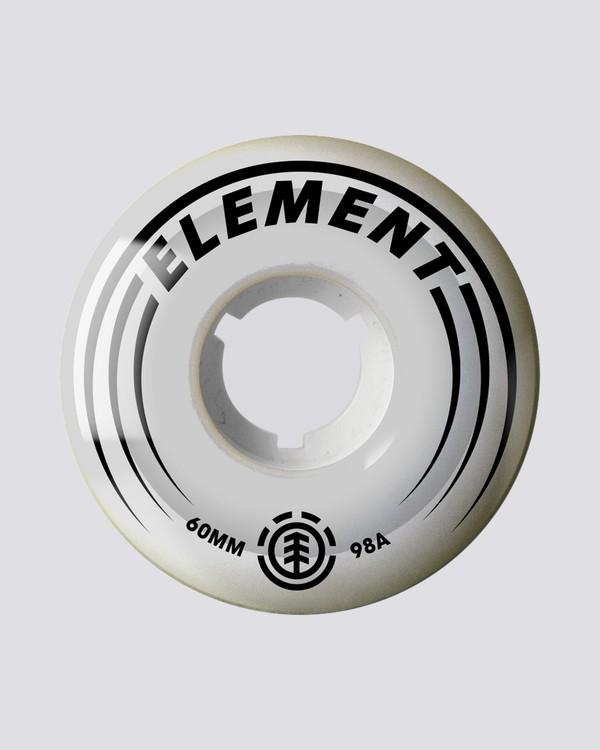 0 Nat Geo Filmer 60mm Wheels White WHLG178A Element