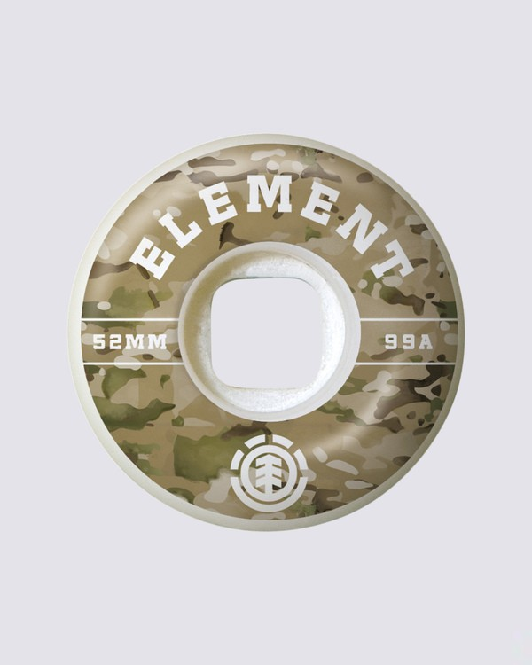 0 Camo Griffin 53mm Wheels  WHLG3CGF Element
