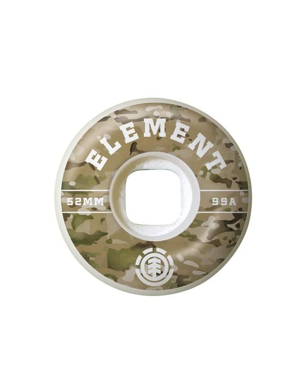 0 Camo Griffin 53mm Wheels Multicolor WHLG3CGF Element