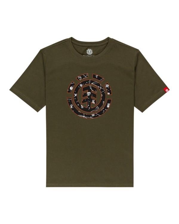 0 Cookie Galaxy - T-shirt pour Garçon Vert Z2SSC6ELF1 Element