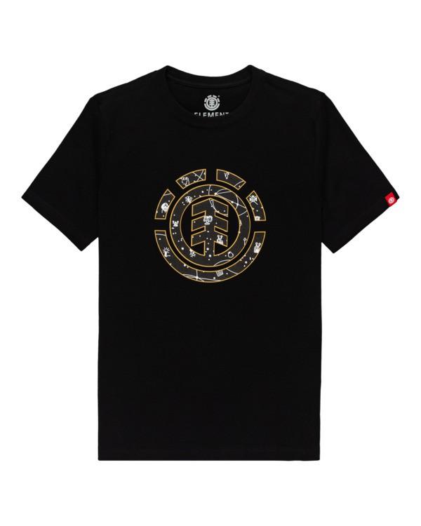 0 Cookie Galaxy - T-shirt pour Garçon Noir Z2SSC6ELF1 Element