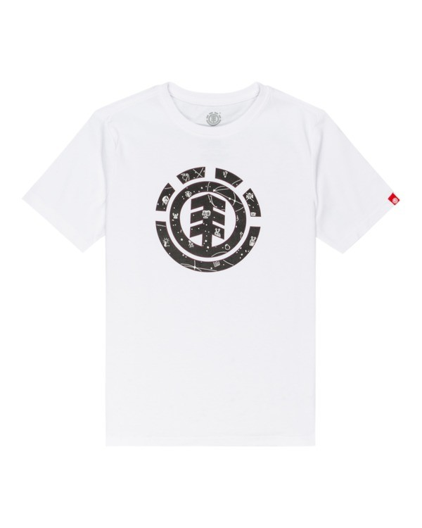 0 Cookie Galaxy - T-shirt pour Garçon Blanc Z2SSC6ELF1 Element