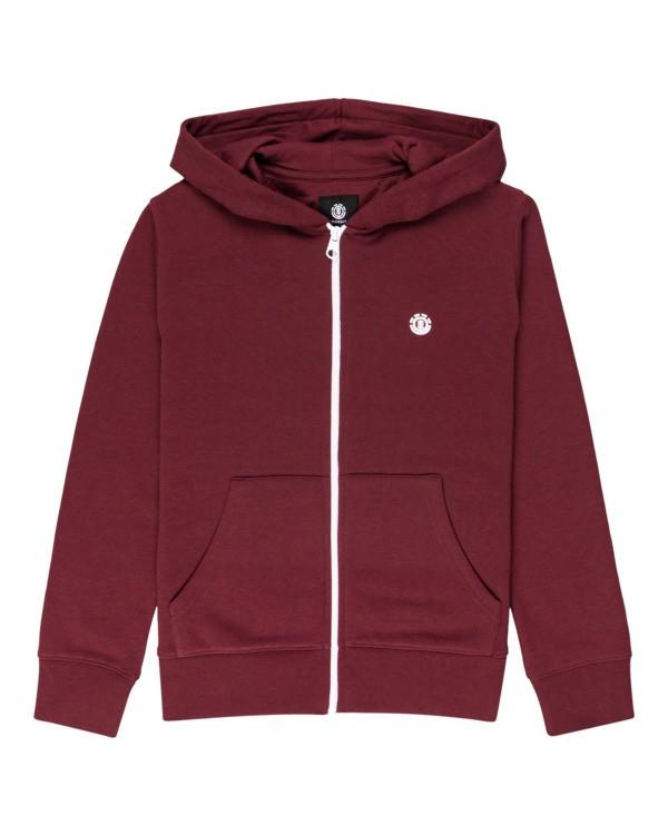 0 Cornell Classic - Zip-Up Fleece for Boys Red Z2ZHB4ELF1 Element