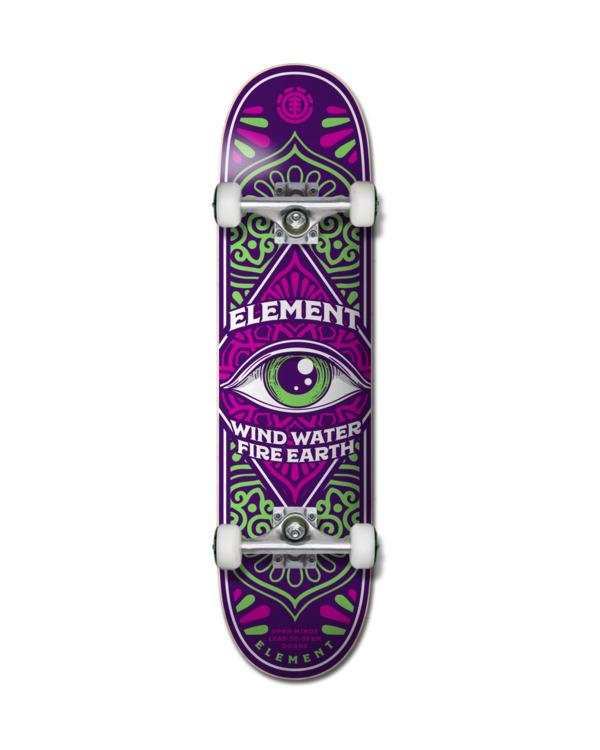 "0 8"" Third Eye - Skateboard pour Unisexe Noir Z4CPA8ELF1 Element"