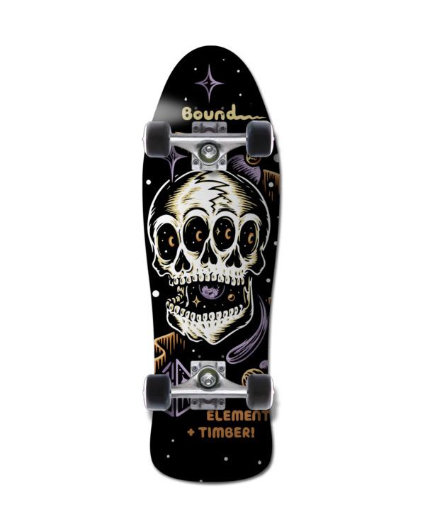 0 Timber Bound Cruiser - Skateboard pour Unisexe Noir Z4CPB5ELF1 Element
