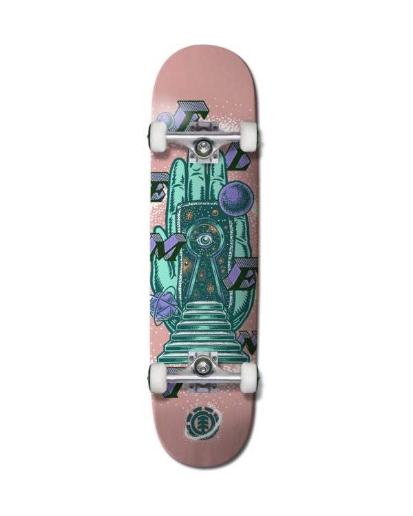 "0 8"" Galaxy Gates - Skateboard pour Unisexe Noir Z4CPC5ELF1 Element"