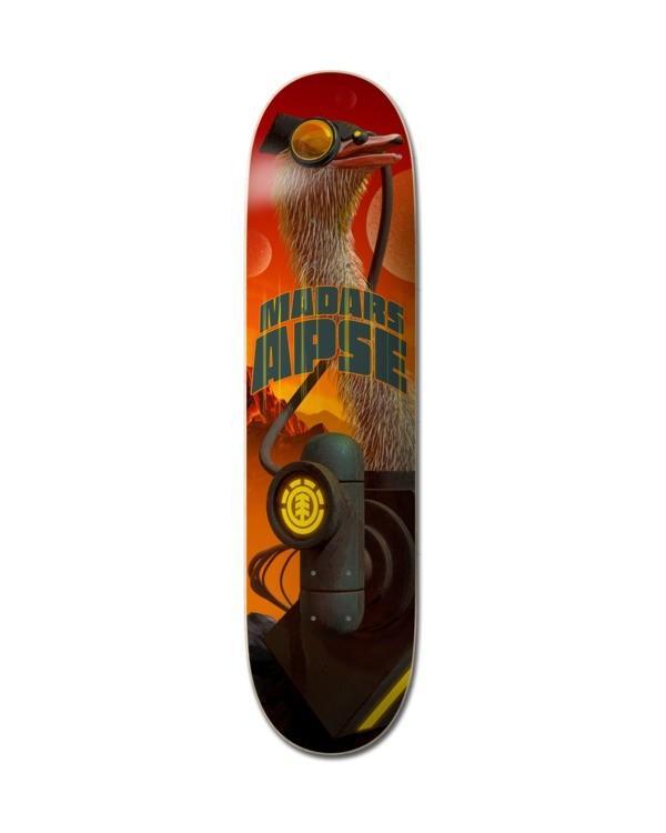 """0 8.5"""" Future Nature Madars - Deck de skateboard pour Unisexe Noir Z4DCC8ELF1 Element"""