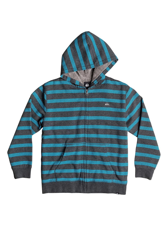 fe1a4931f7 Boys 4-7 Tracker Sherpa Zip-Up Hoodie 40654038 | Quiksilver