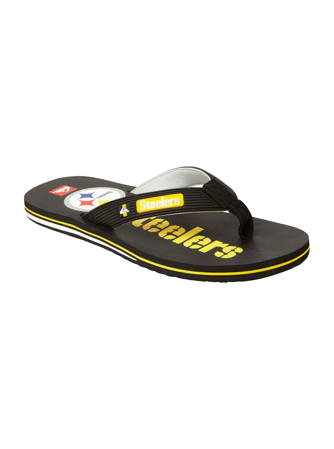 3d31bb306e05c Pittsburgh Steelers NFL Sandals 857444 | Quiksilver
