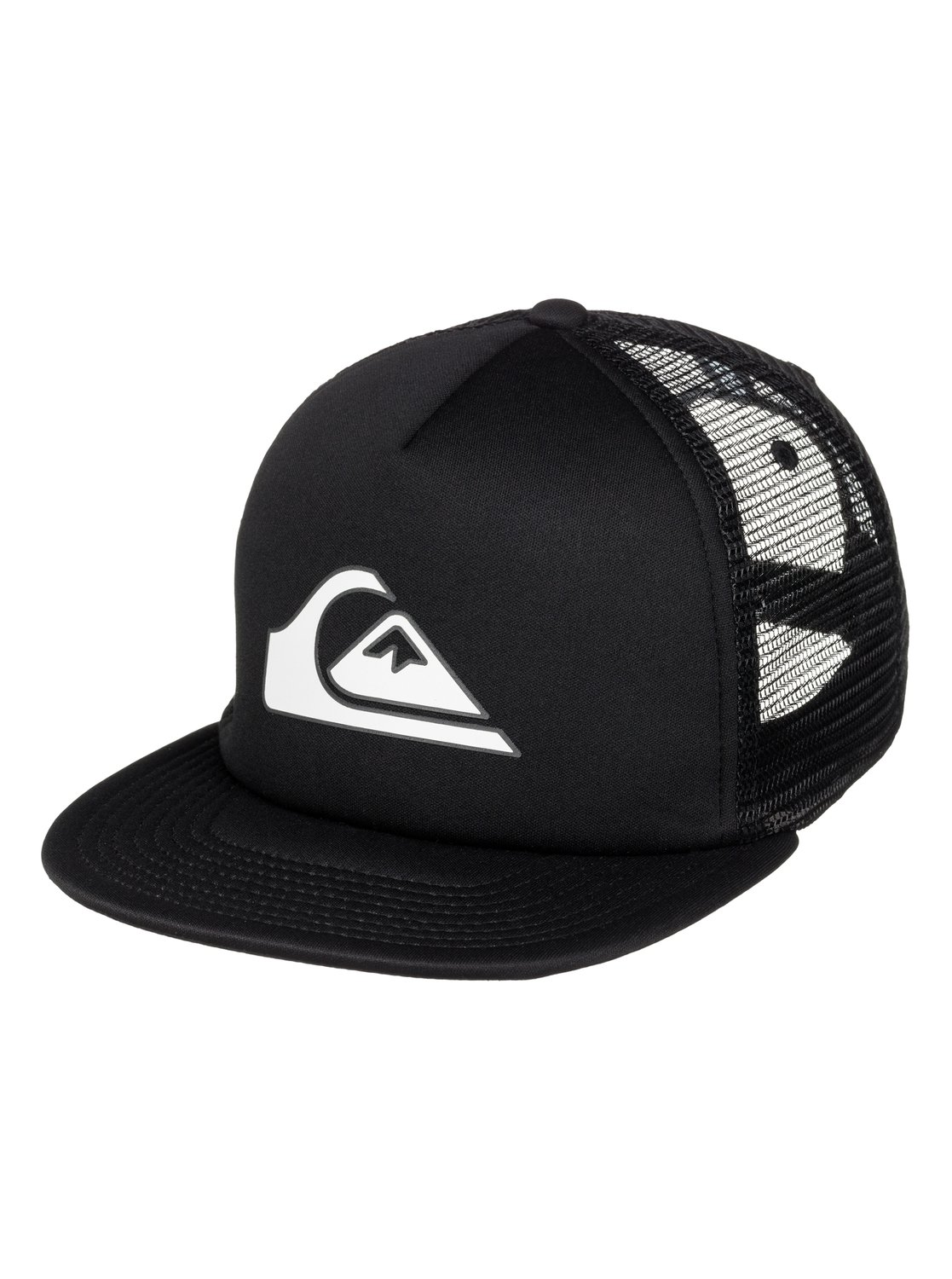 63bfae8253449 0 Boys 8-16 Snapper Trucker Hat Black AQBHA03134 Quiksilver