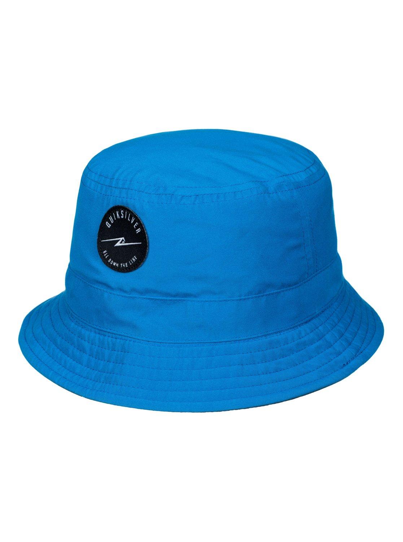 b2d8620bde047e 1 Boys 2-7 Buckateer Reversible Bucket Hat AQKHA03059 Quiksilver