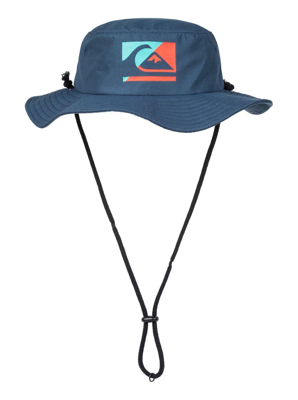 9069570009357 0 Boy s 2-7 Gelly Bush Hat Blue AQKHA03177 Quiksilver