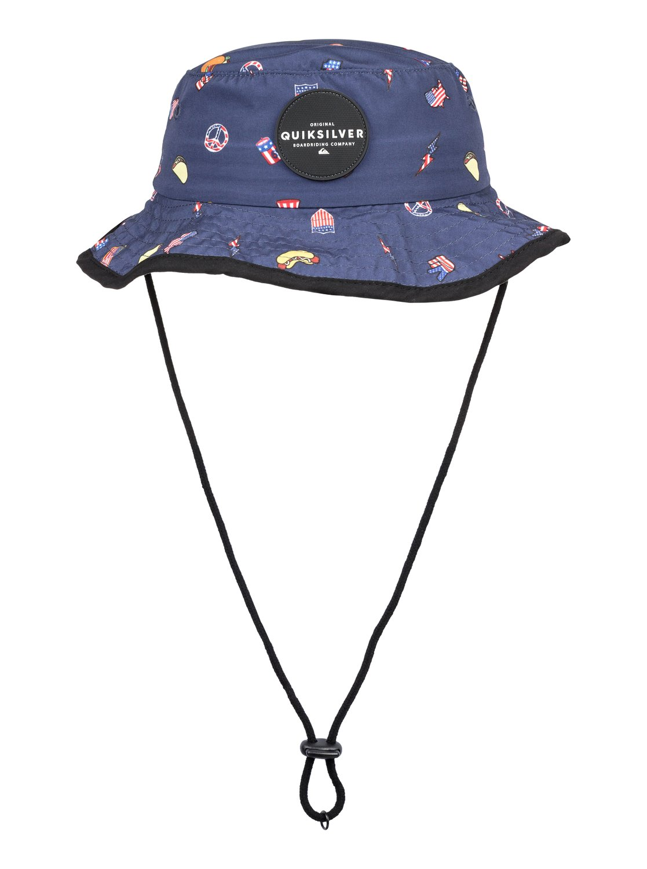 ffbbc35c125d93 0 Boy's 2-7 Ruck Bucket Hat Blue AQKHA03255 Quiksilver