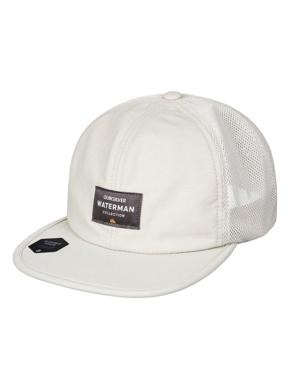 98195a16993 0 Surf Runner Trucker Hat Brown AQMHA03066 Quiksilver