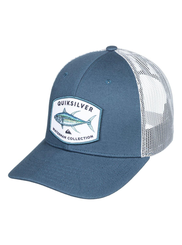 the latest bae7c 220d8 0 Waterman Knot Trucker Hat AQMHA03085 Quiksilver