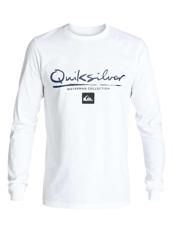 41ba897e4604f 0 Waterman Gut Check Long Sleeve Tee AQMZT03184 Quiksilver