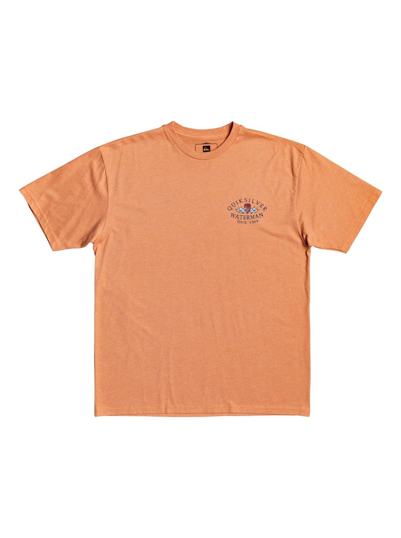 Quiksilver Mens Cabin Fever Short Sleeve Tee