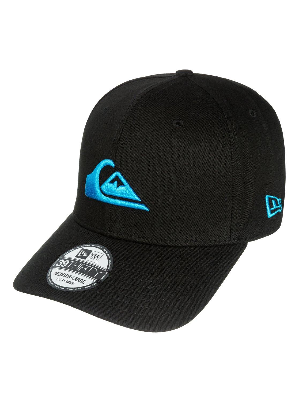 Mountain Amp Wave Black New Era Hat Aqyha03222 Quiksilver