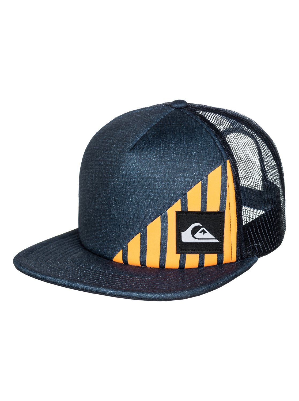 new style f62f8 93994 0 New Wave Comp Trucker Hat AQYHA03287 Quiksilver