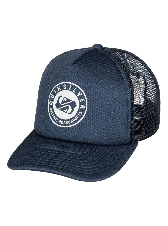 599477babafff 0 Everyday Eclipse Trucker Hat AQYHA03339 Quiksilver