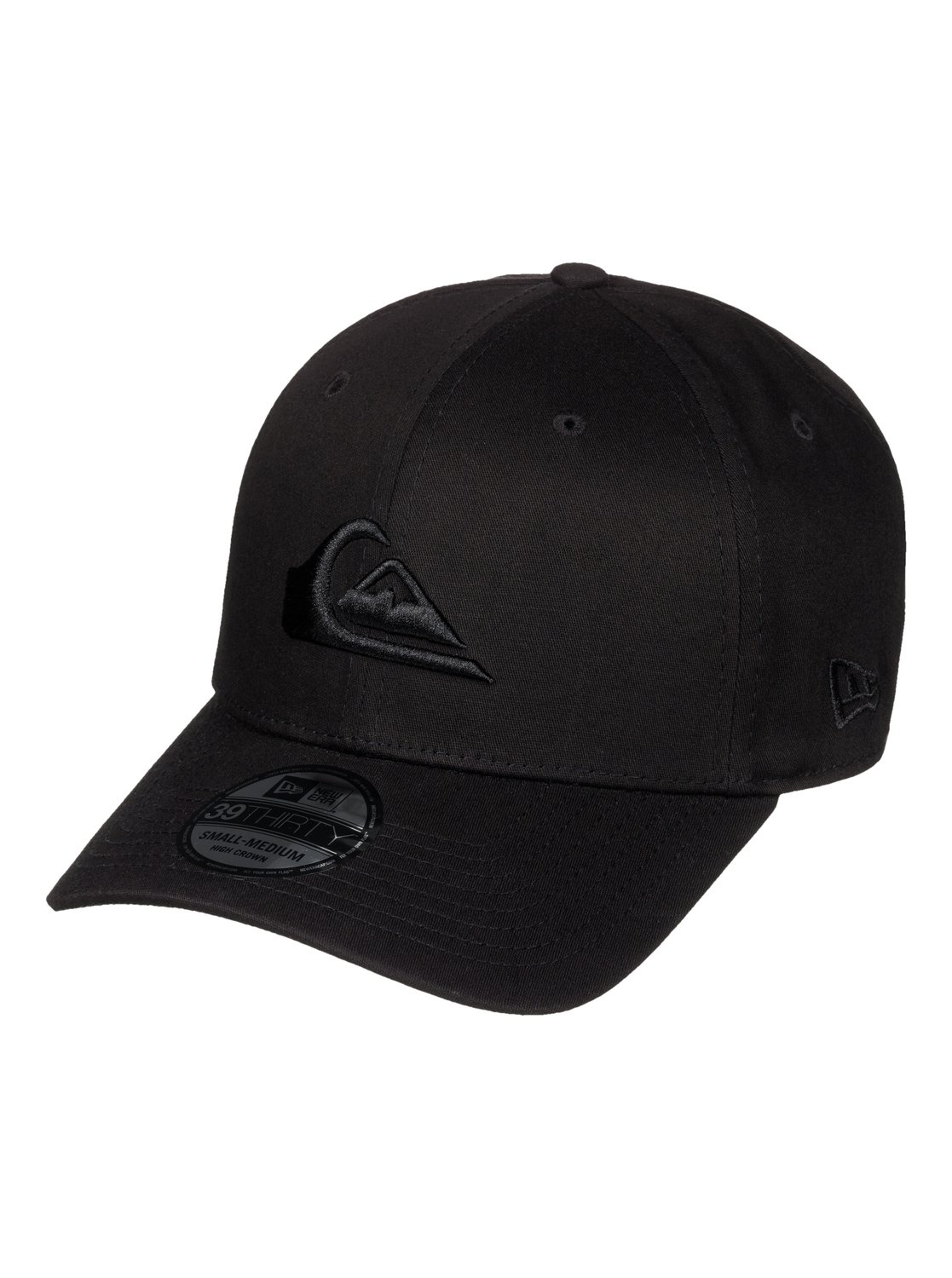 reputable site a25f1 de3aa 0 Mountain   Wave - New Era® Stretch Fit Cap Black AQYHA03487 Quiksilver